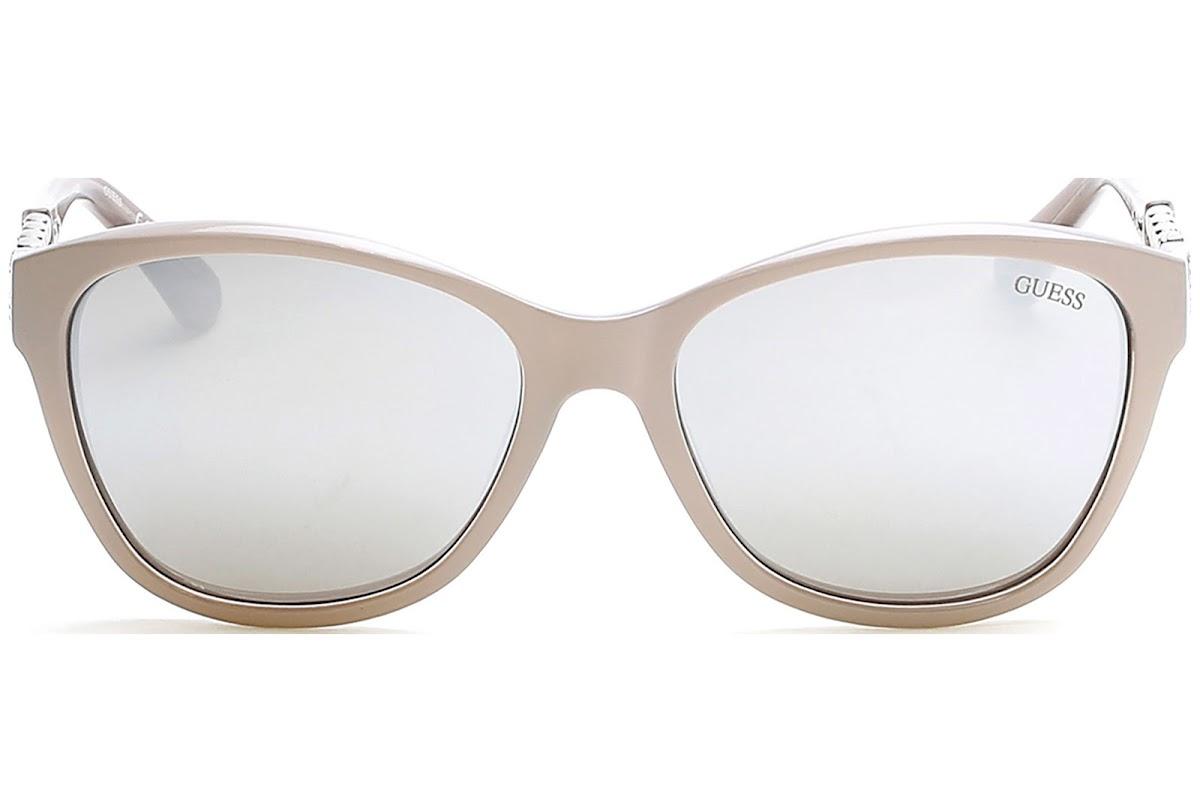 Guess GU7451 C58 57C (shiny beige / smoke mirror) Sonnenbrillen cqpJs8yi