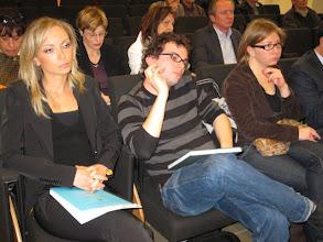 Photo: Due dei premiati. A sinistra Bettina Petroni, a destra Francesco Miele