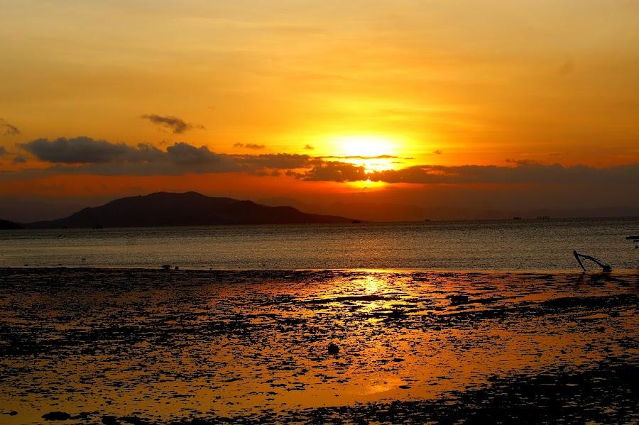 Between Sumbawa - Dompu by Eko Suhartono - Landscapes Sunsets & Sunrises ( sumbawa, beauty panoramic, sunset, dompu, beach )