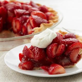 Easy Strawberry Pie.