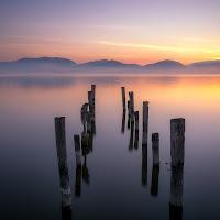 Alba lago Massaciuccoli di simone_napolitano