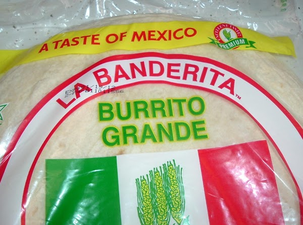 Place your tortilla on a plate and warm it in the mico wave for...