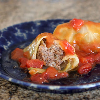 Cabbage Rolls With Ground Beef Rice Recipes.
