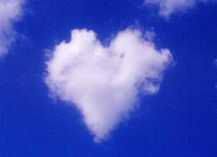 cuore nel blu di gughi