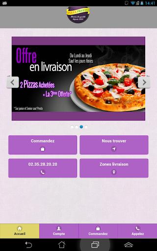 Pizza Presto Fecamp