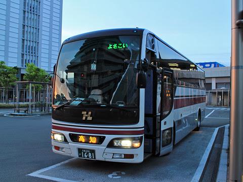 阪急バス「よさこい号」 2891 高知駅バスターミナル到着 その1