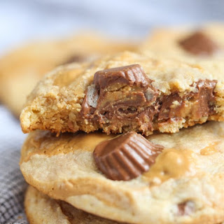 Swirled Peanut Butter Cup Cookies