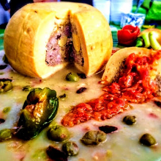 The Hirshon Yucatecan Stuffed Cheese – Queso Relleno.