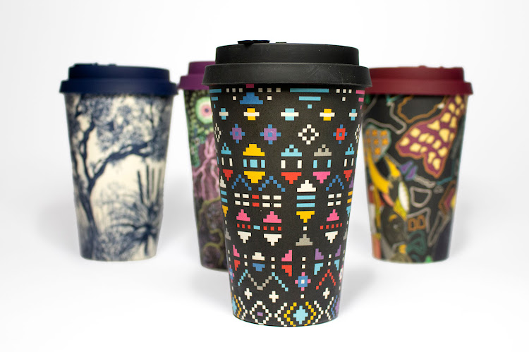 Wanderland Collective and Ecoffee Cup reusable cups.