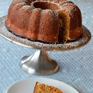 Pumpkin Spice Bundt Cake With Peekaboo Cream Cheese Filling