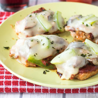 Low Carb Pizza Pork Medallions.