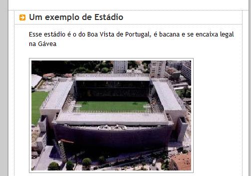 Flamenguista quer, mas o Flamengo não tem estádio