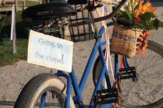 "Photo: Tandem bike ""going to the chapel! design Marietta"
