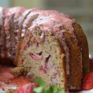 Made From Scratch Strawberry Bundt Cake Recipe