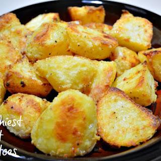 The Best Crunchy Roast Potatoes.