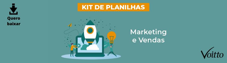 Kit de Planilhas de Marketing e Vendas!