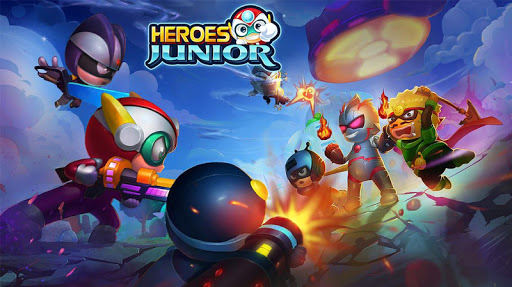 SuperHero Junior - Galaxy Wars Offline Game image | 1