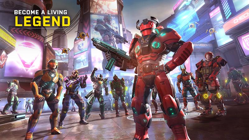 SHADOWGUN LEGENDS: Multiplayer FPS Shooting game Screenshot 1