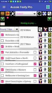 Aussie Rules Footy Predictor and seasons fixtures- screenshot thumbnail