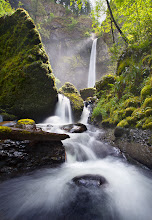 Photo: Until my recent trip to Spirit Falls, I think Elowah Falls had been my favorite spot in the Gorge. So many spots in this area, so hard to choose. Here is one of my favorite pictures from Elowah.