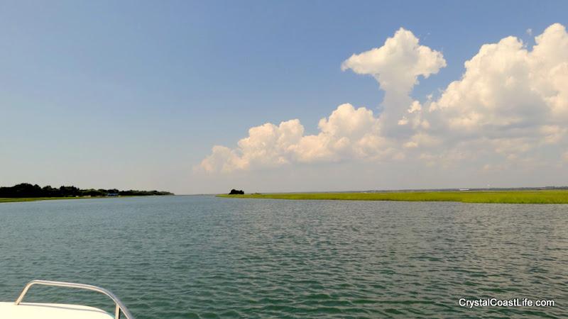 Photo: Looking west behind Bear Island
