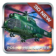 Police Helicopter Simulator 3D - Pilot Game
