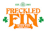 Logo for Freckled Fin Irish Pub and Music Hall