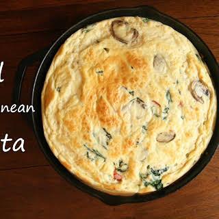 Baked Mediterranean Frittata.