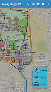 Navigate @ IISc- screenshot thumbnail