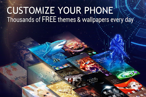 U Launcher 3D u2013 Live Wallpaper, Free Themes, Speed 2.3.6 screenshots 10