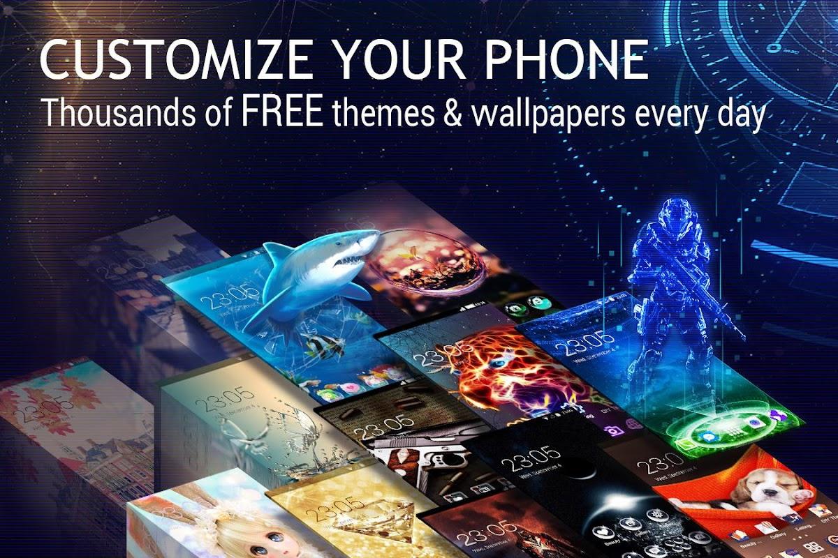 U Launcher 3D – Live Wallpaper, Free Themes, Speed screenshots