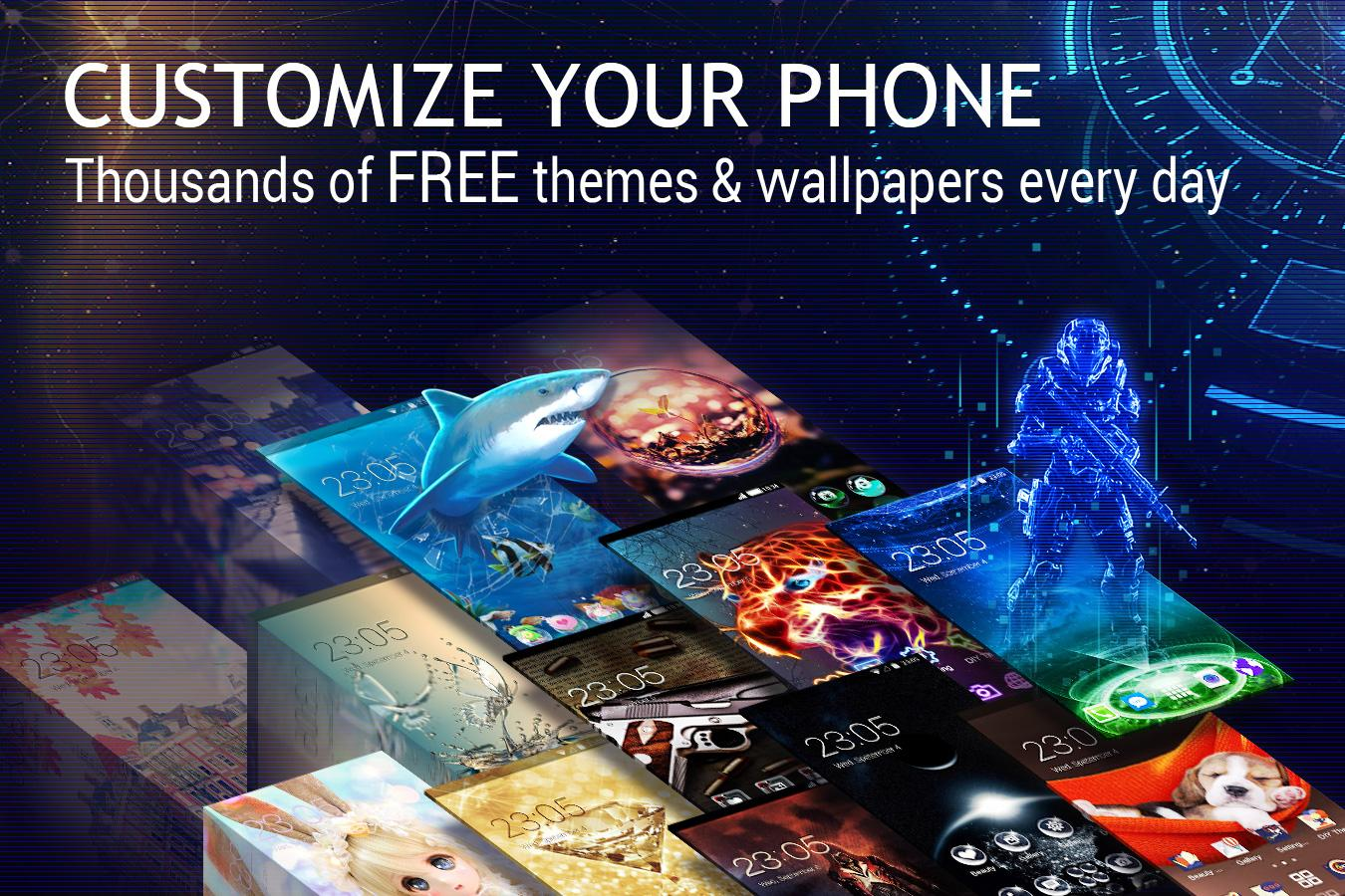 U Launcher 3D – Live Wallpaper, Free Themes, Speed- screenshot