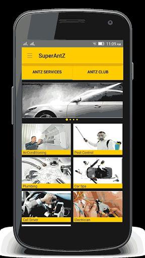 SuperAntZ - Home Services App