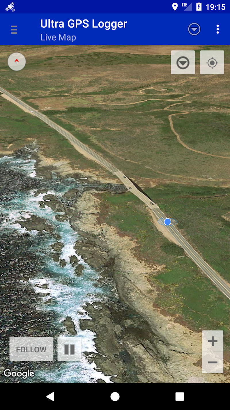 Ultra GPS Logger Screenshot 3