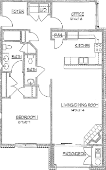 Go to The Partridgeberry Floorplan page.