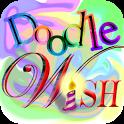 Draw Card Greeting Doodle Wish icon
