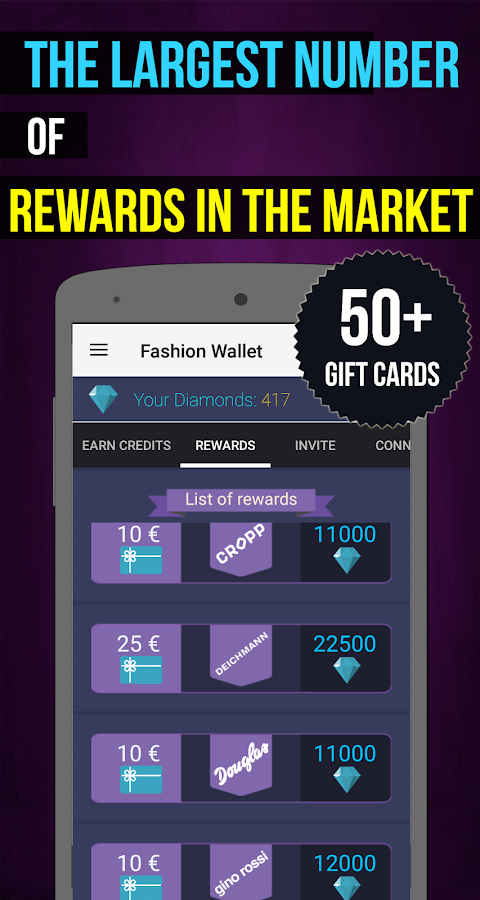 Fashion Wallet Free Gift Card- screenshot