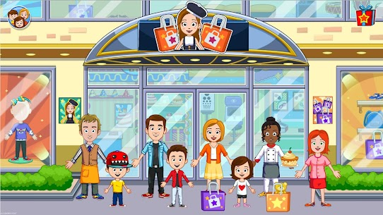 My Town : Shopping Mall Free (Unlimited Money) 6