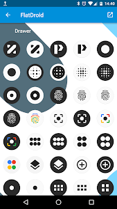 FlatDroid - Icon Pack 10.9 (Patched)