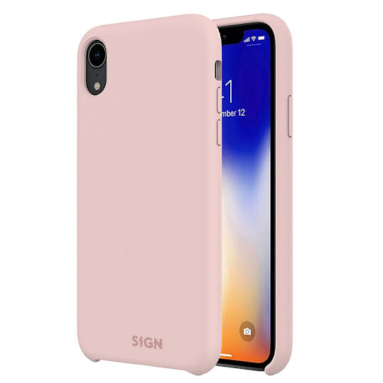 SiGN Liquid Silicone Case for iPhone X & XS - Rosa