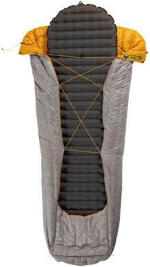 NEMO Siren 45, 850-fill DownTek Ultralight Sleeping Bag/Comforter: Granite, Regular alternate image 3