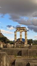 Photo: Sanctuary of Athena tholos. Apparently one of the most photographed sites in the world.