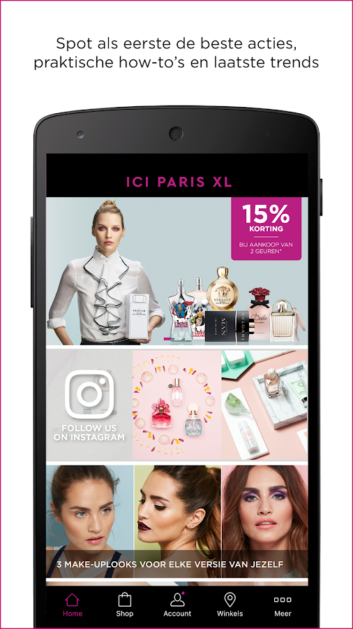 ICI PARIS XL: screenshot