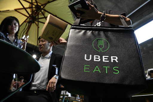 Uber, a dominant player in the app-based taxi industry, has branched out into meal delivery. Picture: SUPPLIED