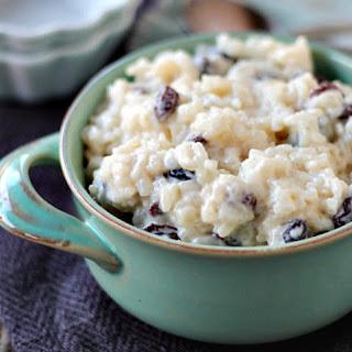 Old Fashioned Rice Pudding Recipe