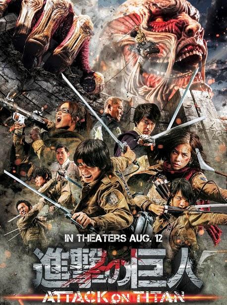 Filme Poster Shingeki no kyojin: Attack on Titan DVDSCR XviD & RMVB Legendado