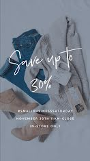 Save Up to 30% - Instagram Story item