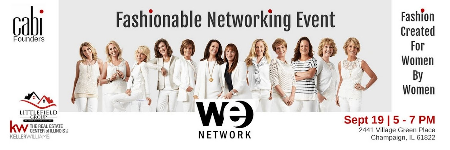 WE Network Event | September 19, 2018 | 5 - 7 PM