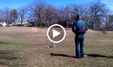 Video: Octo-V Second Generation Flying a bit more stable, but still very difficult to fly.