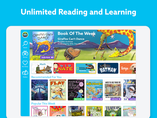 Epic: Kids' Books & Educational Reading Library 1.15.6 Screenshots 1